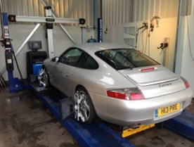 Car wheel alignment