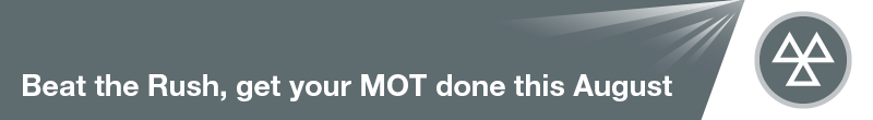 'BEAT THE RUSH - BOOK YOUR MOT'